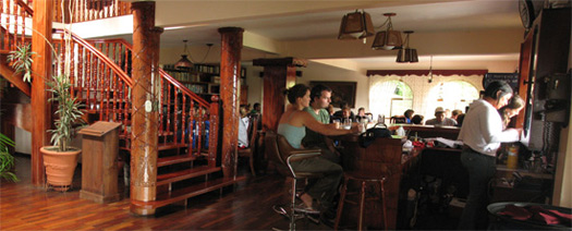Temptations Restaurant Bar at the Hotel Desire Costa Rica, San Jose, Costa Rica